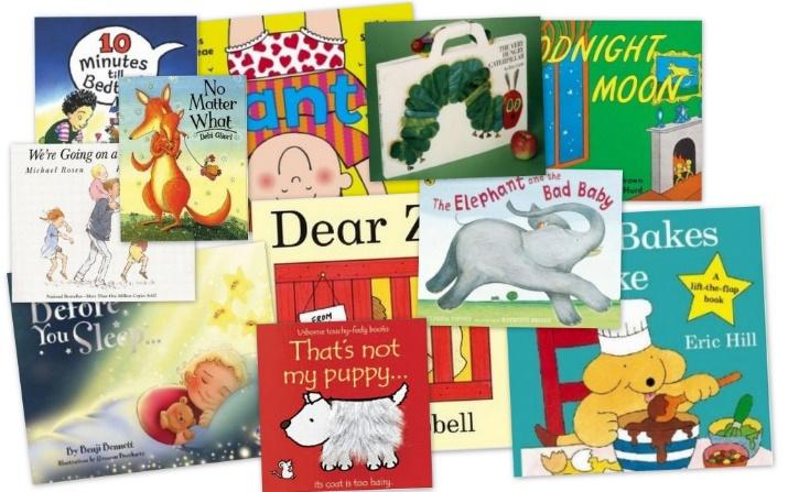 Image of children's books.